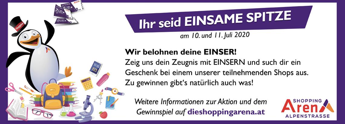 Salzburg-Cityguide - Top Teaser - OK_EINSame_Spitze_Shopping_Arena_TT