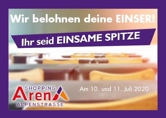 Salzburg-Cityguide - Event - OK_EINSame_Spitze_ShoppingArena_2020