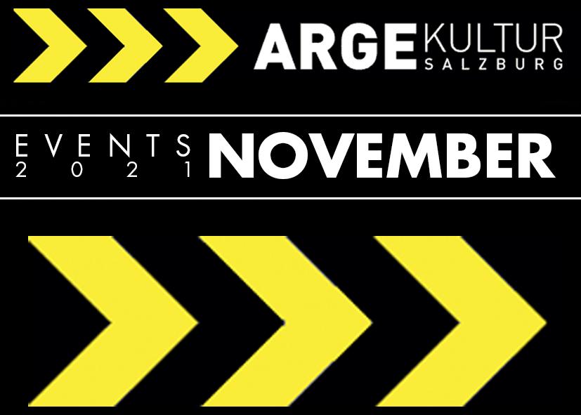 Salzburg-Cityguide - events - OK_ARGE_Kultur_EVENT_NOV
