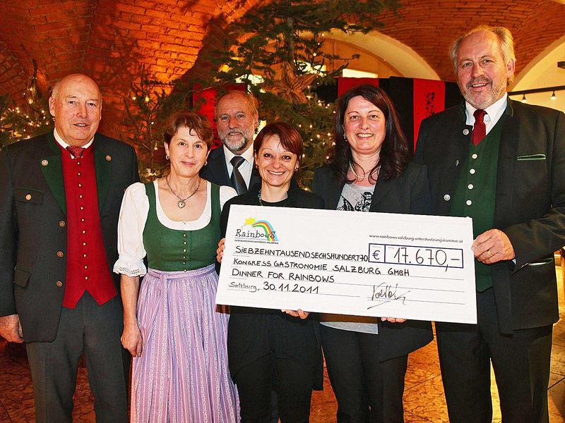 Salzburg-Cityguide - Foto - charity dinner dw