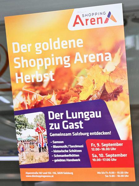 Salzburg-Cityguide - Fotoarchiv - 160909_lungau_shoppingarena_uwe_001.jpg