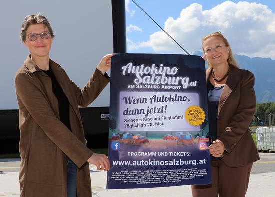 Salzburg-Cityguide - Newsfoto - OK_Airport_SBG_Autokino_2020