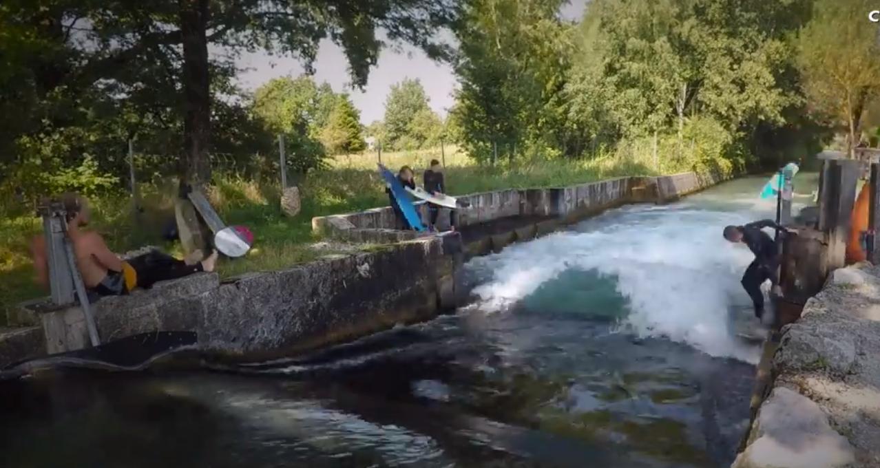 Salzburg-Cityguide - Video - Salzburgs Surf Spot mit königlichem Wasser